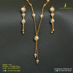 Each day diamond elegance. Get in touch with us on Gold Jewelry Simple, Simple Earrings, Trendy Jewelry, Womens Jewelry Rings, Fashion Jewelry, Gold Chain Design, Gold Jewellery Design, Gold Pearl Necklace, Gold Earrings Designs