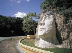 This monument, in honor of Cacique Mabodomaca, opens the door to the western region. ISABELA, PUERTO RICO En honor al Cacique Mabodomaca. Beautiful Islands, Beautiful Places, Puerto Rico History, Puerto Rican Culture, Enchanted Island, Famous Places, Puerto Ricans, Caribbean, The Best