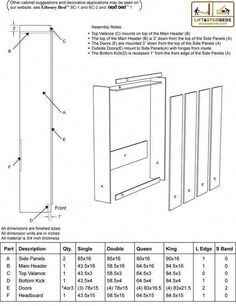 Diy Murphy Bed Kit, Murphy Bed Plans, Build A Murphy Bed, Murphy Bed Mechanism, Cama Murphy, Murphy Bed Hardware, Bed Lifts, Modern Murphy Beds, Types Of Beds