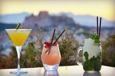 Galaxy Bar Cocktails Alcoholic Drinks, Cocktails, Restaurant Bar, Wine, Glass, Food, Athens, Craft Cocktails, Drinkware