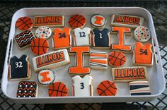 Illini Treats. Perfect for tailgating!
