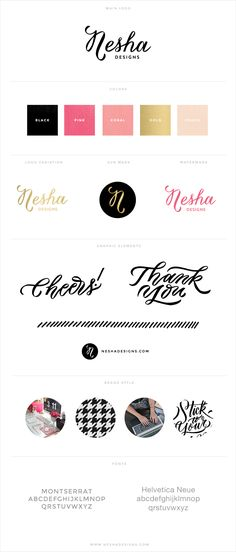 Nesha Designs branding