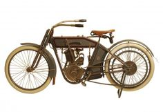 "George Pardos Collection ""Evolution of the Harley-Davidson Motorcycle"": 1912 Harley Davidson 8XA Single"