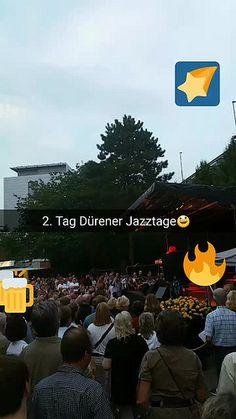 #snapchat Geschichte am Sternschnuppentag #jazztageDN Tag 2