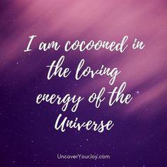I am....