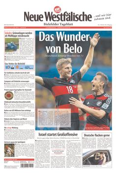 The Miracle of Belo (Horizonte) - Germany humbles Brazil 7-1