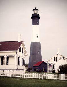 Lighthouse on Tybee Island!