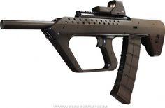 Saiga bull-pup 12 gauge shotgun