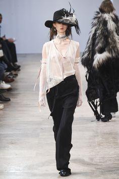 Ann Demeulemeester Fall 2017 Menswear Collection Photos - Vogue