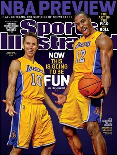 Sports Illustrated cover featuring Steve Nash and Dwight Howard e6586a744