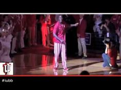 """Indiana University's Men's Basketball team goes Retro with their Harlem Shake video.  """"Watford for the WIN!!!  YES!!!  YES!!!"""""""