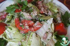 """Салат из свежих овощей """"Глехурад"""" - кулинарный рецепт"""