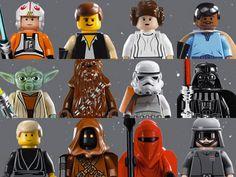 free starwars lego printables | Lego Star Wars Party Ideas - Themeaparty