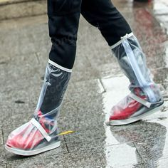 Motorcycle Waterproof Rain Shoes Covers Thicker Scootor Non-slip Boots Covers Adjusting Tightness Top Mode, Rain Shoes, Waterproof Shoes, St Kitts And Nevis, Uganda, Tapas, High Top Sneakers, Raincoat, Footwear
