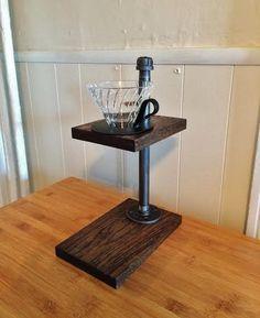 Coffee Stand Pour Over von CraftedUnderground auf Etsy