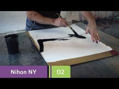 Nihon New York - Episode 02 - Zen in America: Painting with NYC's Max Gimblett Acrylic Painting Tutorials, Painting Videos, Diy Craft Projects, Craft Tutorials, Art And Craft Videos, Learn Art, Andreas, Nihon, Acrylic Colors