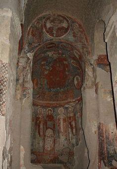 Columned Church Cappadocia Turkey