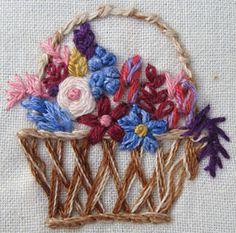 herringbone basket