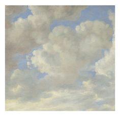 Wolkenluchten behang Golden Age Clouds 2 - KEK Amsterdam®