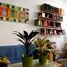 Yo hago, tu haces es un original cafe costura en la calle San Lorenzo #zaragoza