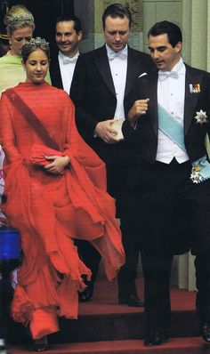 Princess Theodora and Prince Nicholas of Greece.