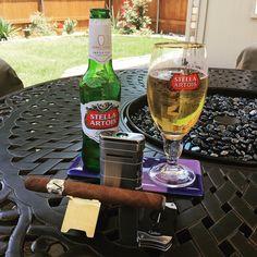 My moment of #zen.  #namaste #avouveziancigars #avo #priceless #cigar #xikar #colibri #stellaartois #cigar #cigars #cigarlifestyle #cigarlover #cigarlife_ #cigarporn  #cigarphotography #cigaraficionado  #cigaroftheday  #cigaraddict  #cigarart #cigarlounge  #cigarlover #relax #relaxing