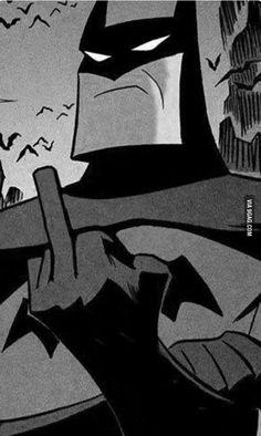 Na na na na na na na na na na na na na na na na… BATMAN! Na na na na na na na na na na na na na na na na… BATMAN! Na na na na na na na na na na na na na na na na… BATMAN!<br> via arcane images Batman Comics, Batman Meme, Arte Dc Comics, Im Batman, Batman Cartoon, Batman Quotes, Batman Comic Art, Batman T Shirt, Batman Logo
