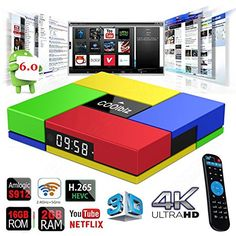 T95K PRO Amlogic S912 Android 60 Smart TV box Octa Core cortexA53 Dual Band WIFI Bluetooth 40 UHD 4K H265 VP9 HDR 3D Media Player -- Find out more about the great product at the image link.