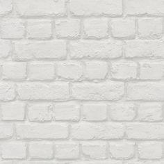 Papel pintado imitaci n ladrillos paredes pinterest - Plaquetas decorativas exterior ...