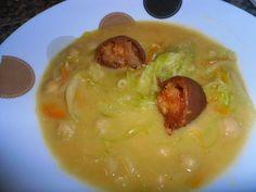 receitinhas da belinha gulosa: Sopa de grão com farinheira