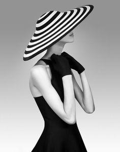 Model, Olga Sherer in Ralph Lauren