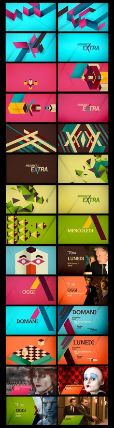 MEDIASET EXTRA on Behance