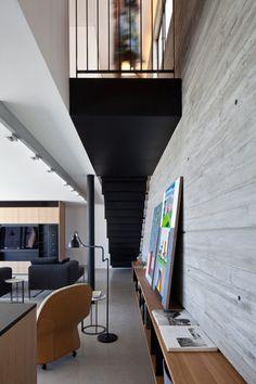 A Duplex Penthouse Apartment by Pitsou Kedem Architects Photo