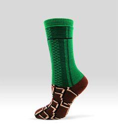 Super Mario Bros. Warp Zone Pipe Socks