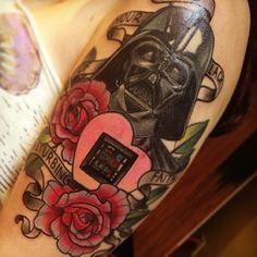 Star Wars - Darth Vader tattoo