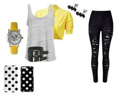 yellow by r2005g on Polyvore featuring moda, Project Social T and Olivia Pratt