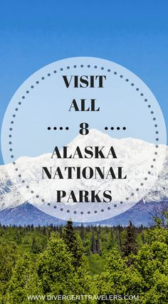 Visit all 8 Alaska National Parks.  Are you planning a visit to Alaska? If so you simply can not miss one of the 8 amazing national parks Alaska has to offer. Click to read Alaska National Parks – The Fabulous 8 #Alaska #Travelguide #NationalParks #AdventureTravel