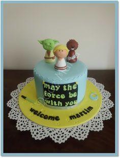 Baby Shower Star Wars Cake
