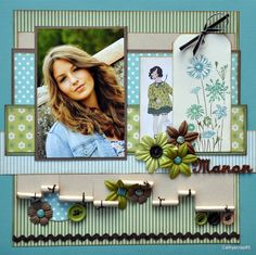 Le blog de cathyscrap85 - 100% scrapbooking Pour me contacter : catherine.contiero@wanadoo.fr. Love the tag!