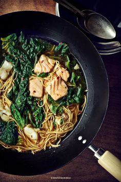 Zupa rybna z woka