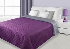 Sivo-fialový prehoz Eva je dostupný v 4 rozmeroch: 70x150, 170x210, 220x240 alebo 230x260 cm. Furniture, Design, Home Decor, Home, Decoration Home, Room Decor, Home Furnishings, Home Interior Design