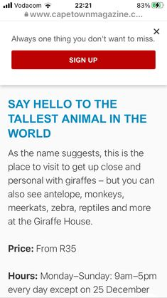 Animals Of The World, Say Hello, Places To Visit, Names, How To Get, Sayings, Lyrics, Quotations, Idioms