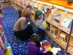 Our I-Can-Read section was massive and underutilized. A row of early readers stretched out on a long shelf, two rows high, neatly arrange. Public Library Design, School Library Design, Kids Library, Little Library, Elementary Library, Library Ideas, Library Signage, 21st Century Schools, Library Organization
