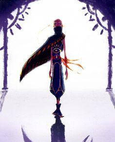 Impa from Zelda: Skyward Sword art.