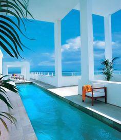 ♂ beach house swimming pool - Shore Club - Miami, United States