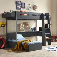 Buy bunk beds from South Africa's largest online furniture store. Cielo offers a wide range of quality bunk beds to choose from. Free nationwide delivery available! Bunk Beds For Sale, Bunk Beds With Stairs, Cool Bunk Beds, Kids Bunk Beds, Childrens Bunk Beds, Couches For Sale, Double Bunk Beds, Bed Photos