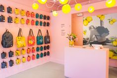 The Lemonade Stand pop-up store by Herschel Supply, North Vancouver – Canada » Retail Design Blog