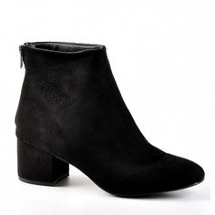 4657fdbd9bf772 Boots et Bottines Femme à Talon Plat. chaussures femme boots bottines avec zip  NOIR