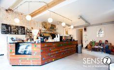 The Village Coffee and Music Utrecht Coffee Shop Counter, Village Coffee, Coffee Corner, Cafe Bar, Utrecht, Bartender, Liquor Cabinet, Restaurant, Storage