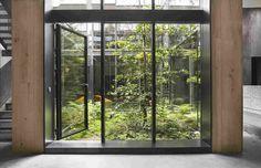 Дом со стеклянным садом в Копенгагене